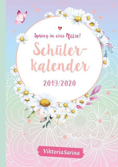 Spring in eine Pfütze! Schülerkalender 2019/2020 als Kalender
