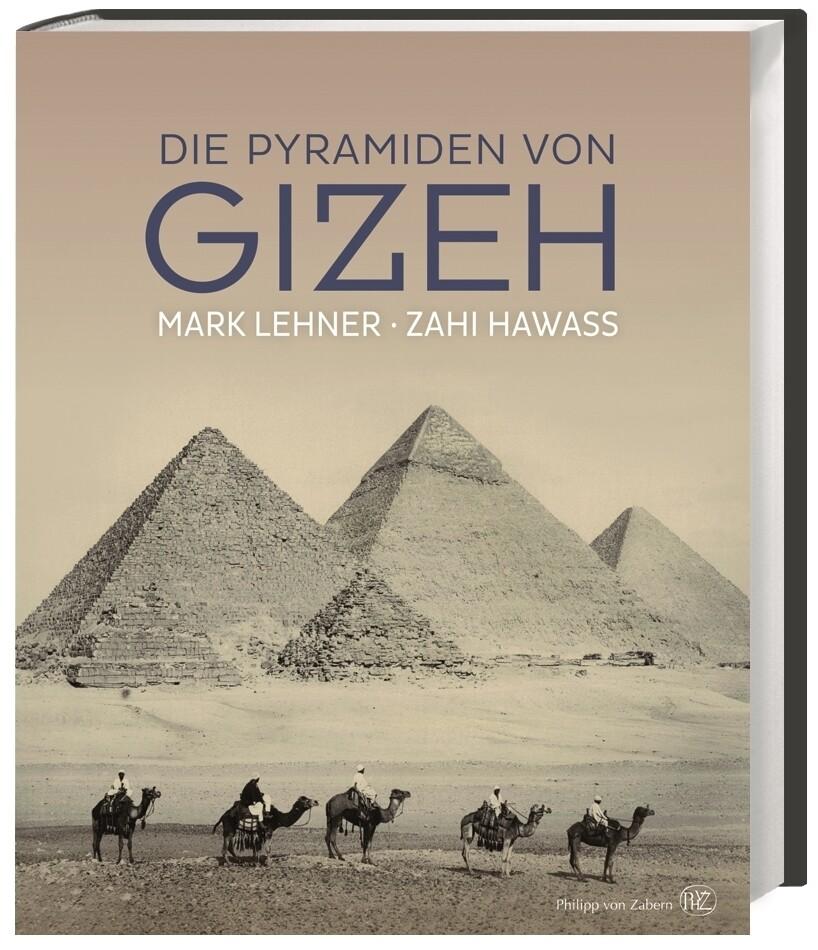Die Pyramiden von Gizeh als Buch (gebunden)