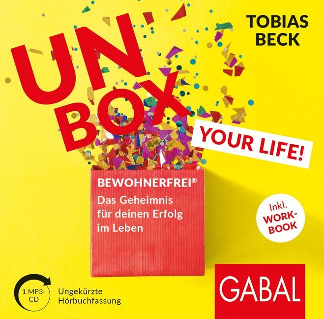 Unbox your Life!, 1 Audio-CD, als Hörbuch CD