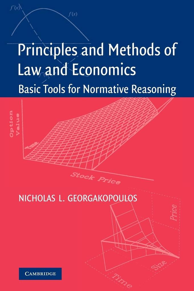 Principles and Methods of Law and Economics als Taschenbuch