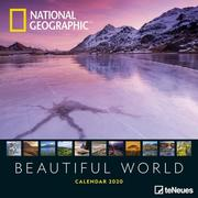 National Geographic Beautiful World 2020 Broschürenkalender