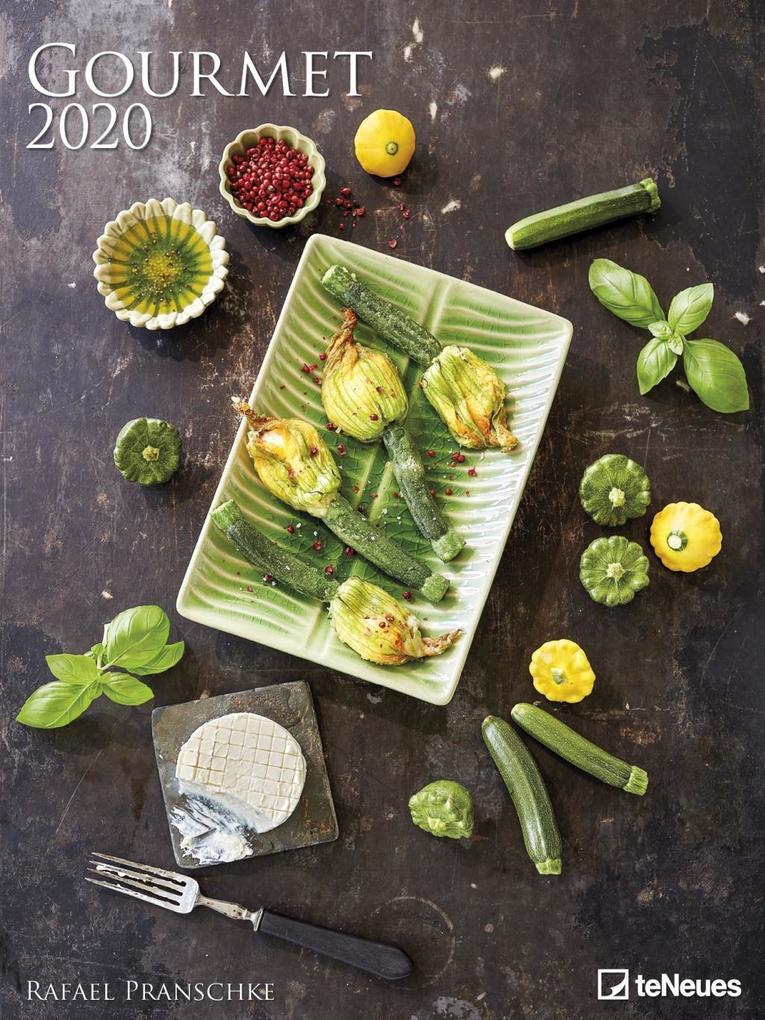 Gourmet 2020 Posterkalender als Kalender