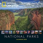 National Parks 2020 National Geographic Broschürenkalender