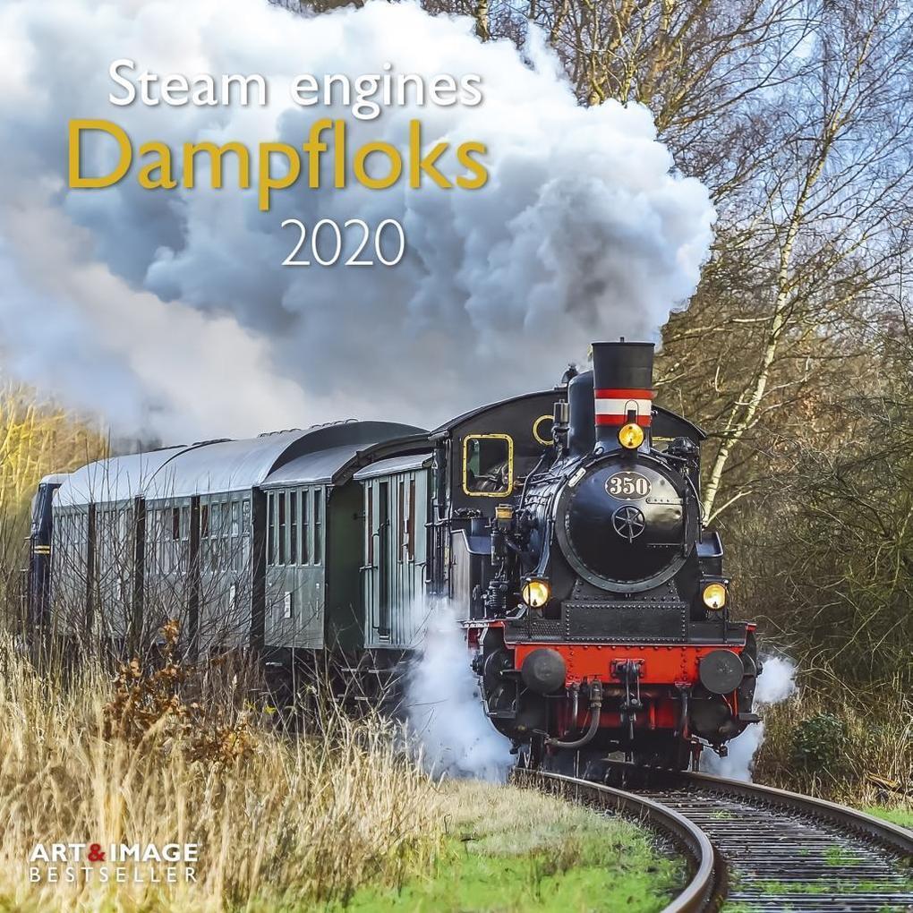 Dampfloks 2020 Broschürenkalender als Kalender