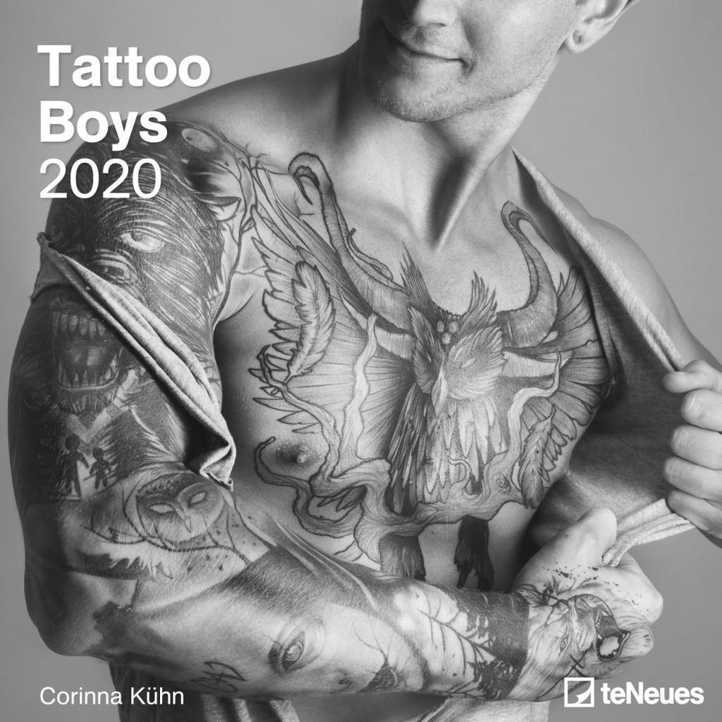 Tattoo Boys 2020 Broschürenkalender als Kalender