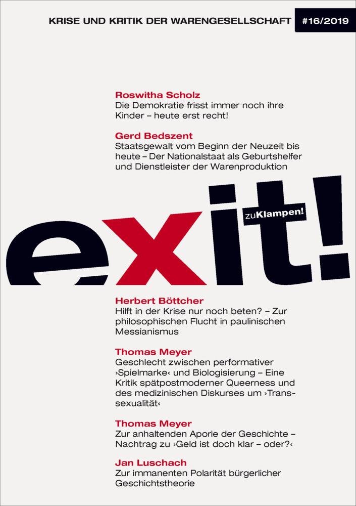 exit! Krise und Kritik der Warengesellschaft als Buch (kartoniert)