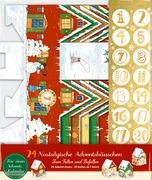 Adventshäuschen - 24 winterliche Adventshäuschen
