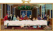 Wand-Adventskalender - Das Weihnachtsmahl
