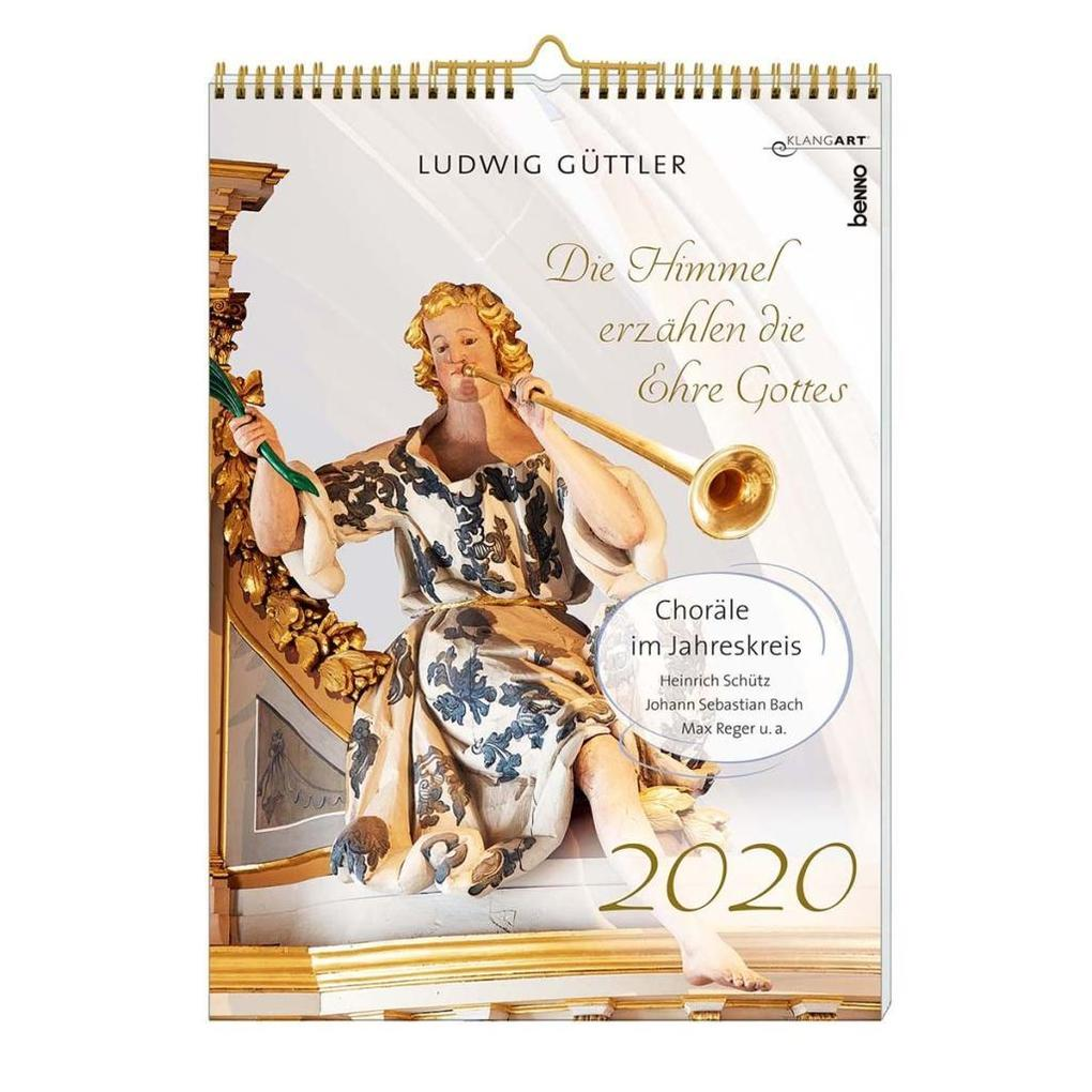 Die Himmel erzählen die Ehre Gottes 2020, m. 1 Audio-CD als Kalender