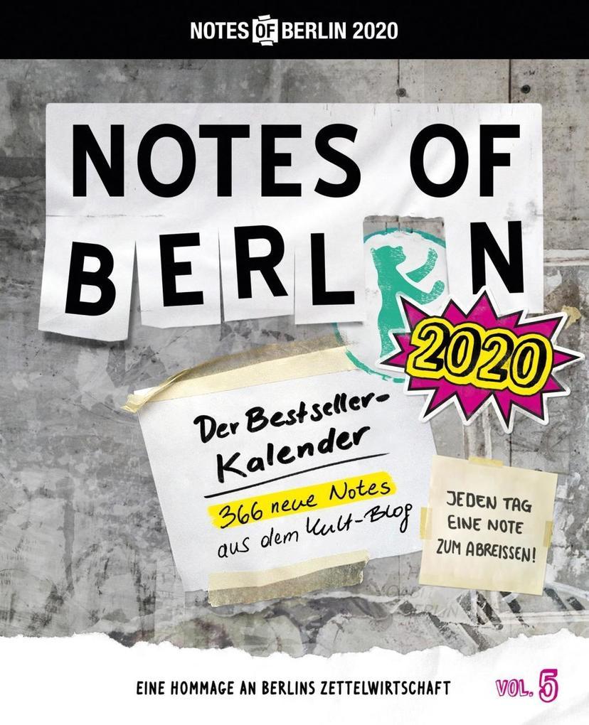 Notes of Berlin 2020 als Kalender