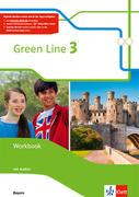 Green Line 3. Ausgabe Bayern. Workbook mit Audio-CD 7. Klasse