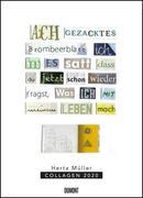 Herta Müller: Collagen 2020 - Poster-Kalender - Format 49,5 x 68,5 cm