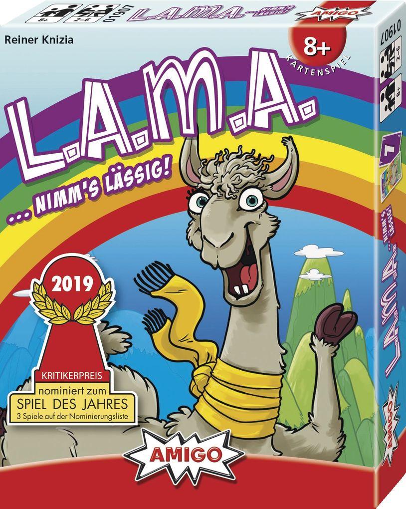 LAMA als Spielware