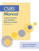 Csbs Manual: Communication and Symbolic Behavior Scales (Csbs), Normed Edition