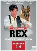 Kommissar Rex - Moser Komplettbox (Alle 4 Staffeln mit Tobias Moretti). 12 DVDs