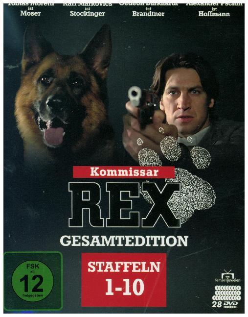 Kommissar Rex - Gesamtedition (Staffeln 1 bis 10 - Alle 119 Folgen) + Bonus-Disc. 28 DVDs als DVD