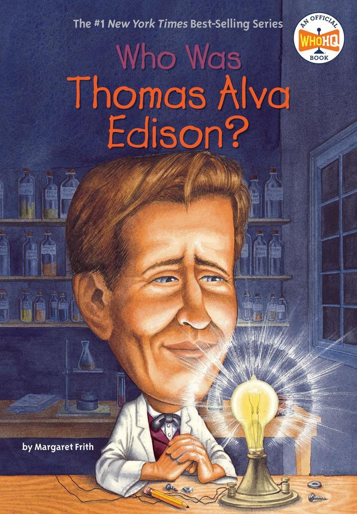 Who Was Thomas Alva Edison? als Taschenbuch