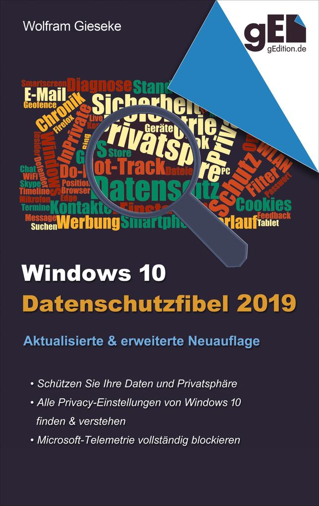 Windows 10 Datenschutzfibel 2019 als eBook