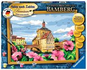 Malen nachZahlen. Historisches Bamberg