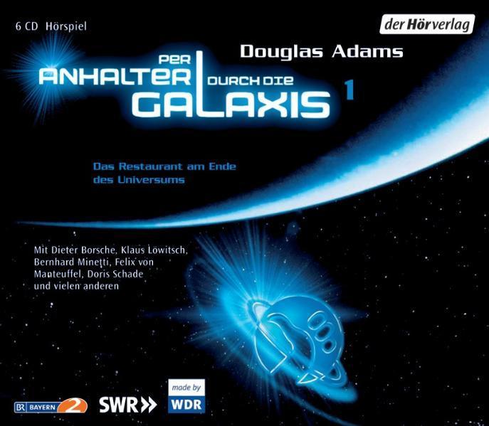 Per Anhalter durch die Galaxis 1. 6 CDs als Hörbuch CD