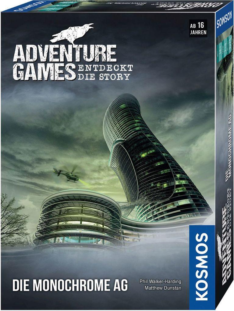 Adventure Games - Die Monochrome AG als sonstige Artikel