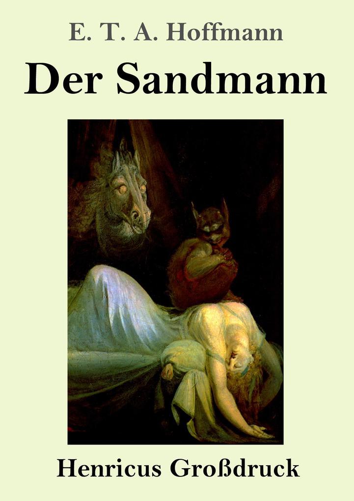 Der Sandmann (Großdruck) als Buch (gebunden)