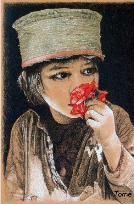 Tomés Kinder - Zeichnungen / Tomé's Children - Drawings als Buch (gebunden)