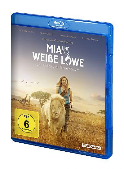 Mia und der weiße Löwe als DVD