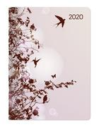 Mini-Buchkalender Style Hummingbird Tree 2020
