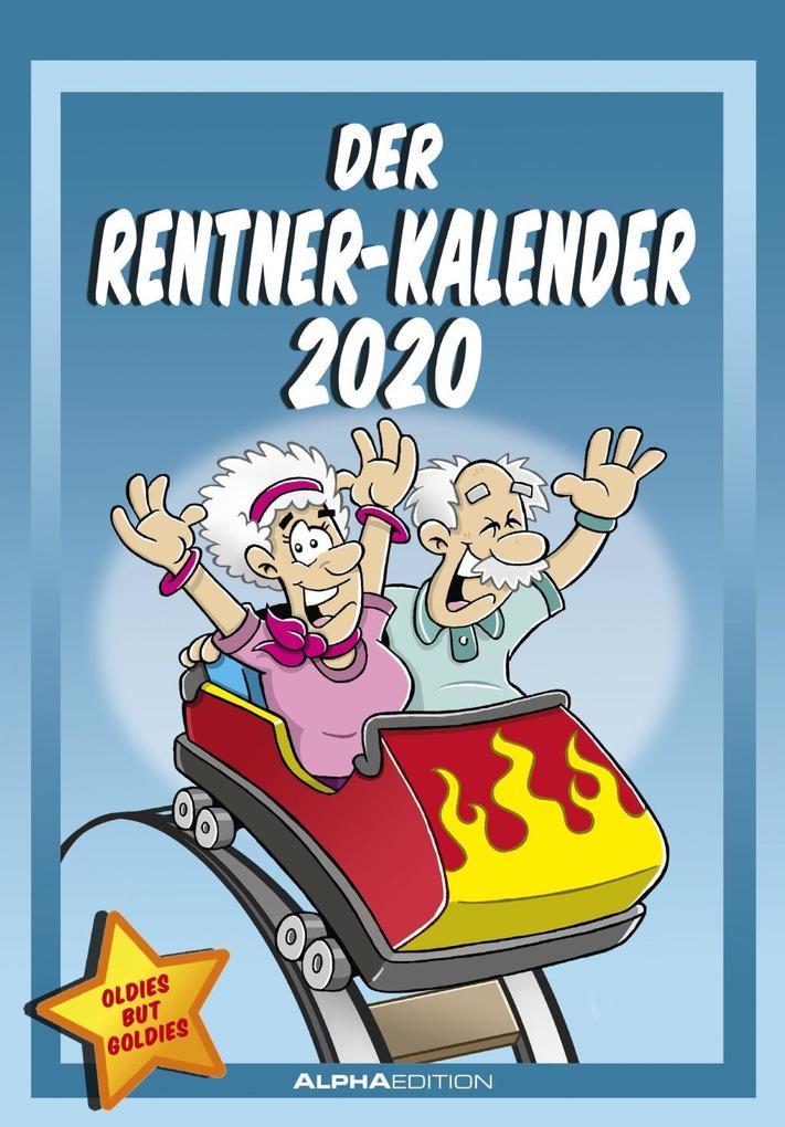 Rentnerkalender 2020 als Kalender