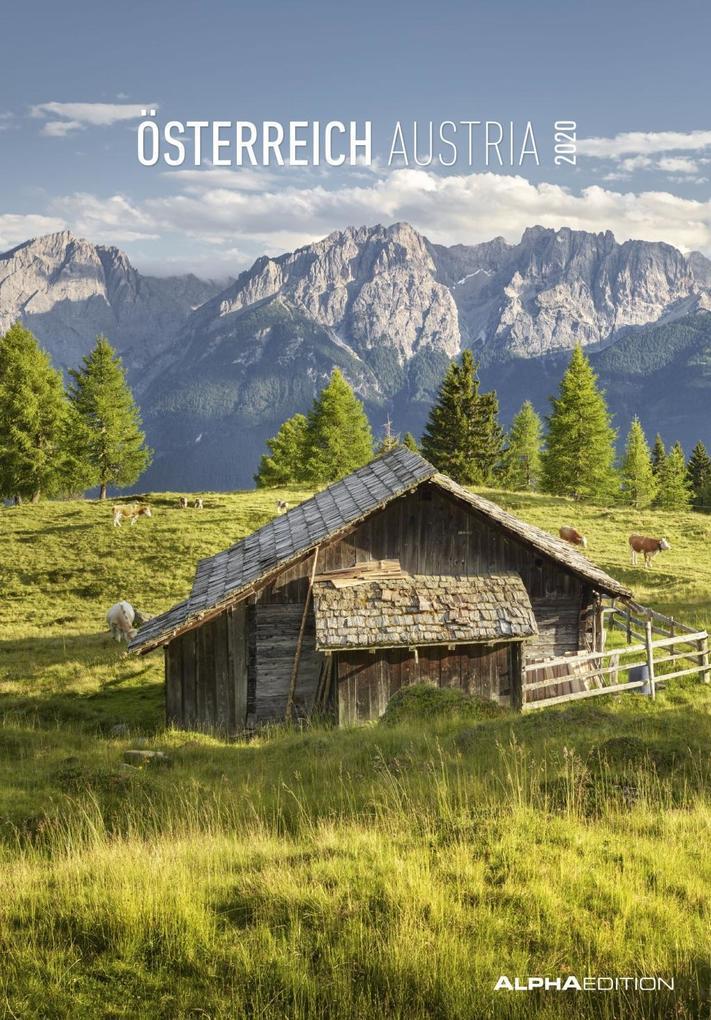 Österreich 2020. Mit österreichischem Kalendarium als Kalender