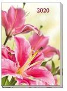 "Taschenkalender A6 ""Flowers"" 2020"