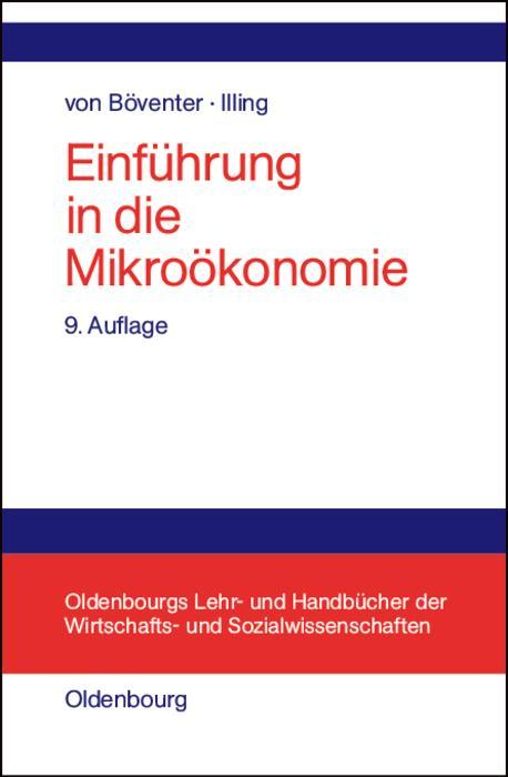 Einführung in die Mikroökonomie als eBook pdf