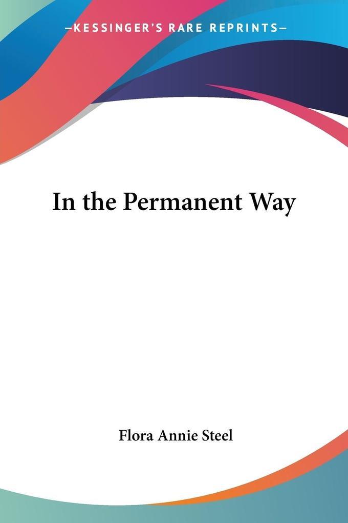 In the Permanent Way als Taschenbuch