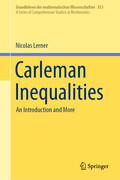 Carleman Inequalities