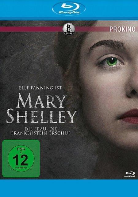 Mary Shelley - Die Frau, die Frankenstein erschuf als Blu-ray