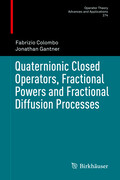Quaternionic Closed Operators, Fractional Powers and Fractional Diffusion Processes
