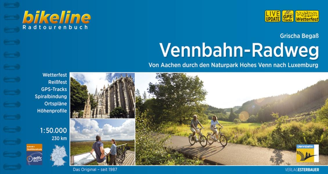 Vennbahn-Radweg 1:50.000 als Buch (kartoniert)