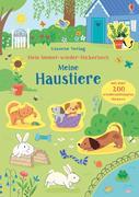 Mein Immer-wieder-Stickerbuch: Meine Haustiere