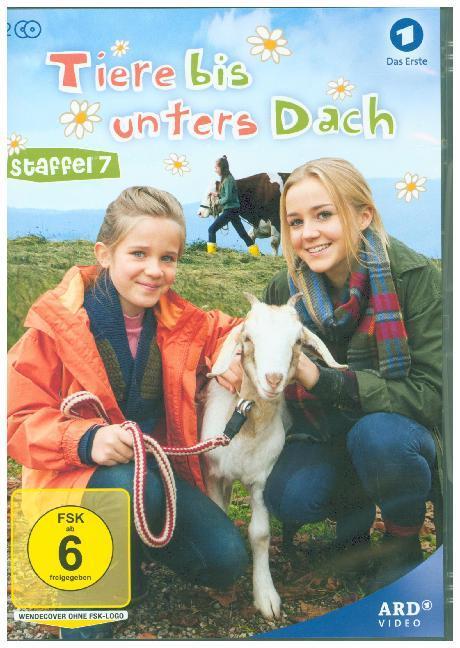 Tiere bis unters Dach als DVD