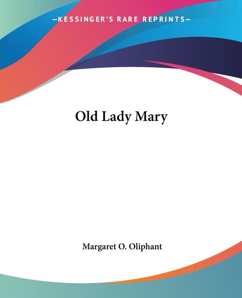 Old Lady Mary als Taschenbuch