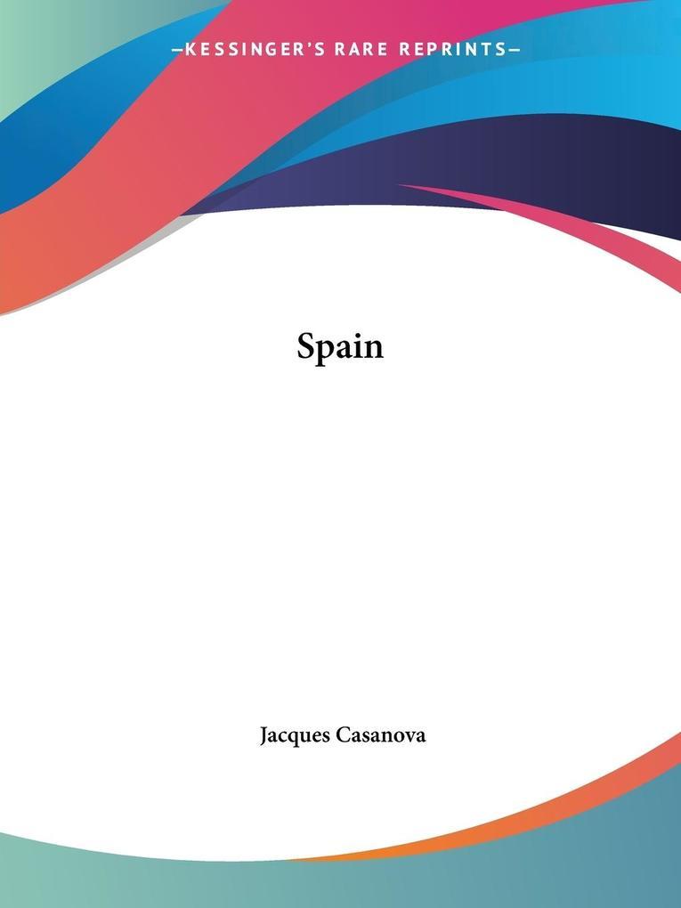 Spain als Taschenbuch