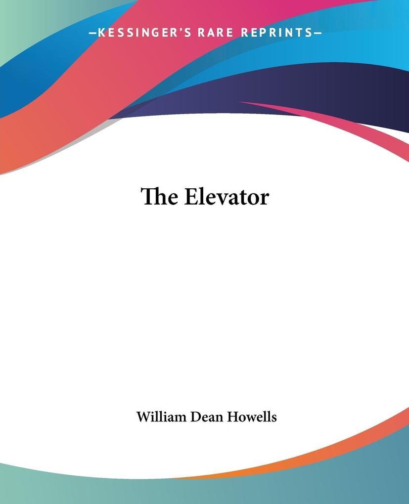 The Elevator als Taschenbuch