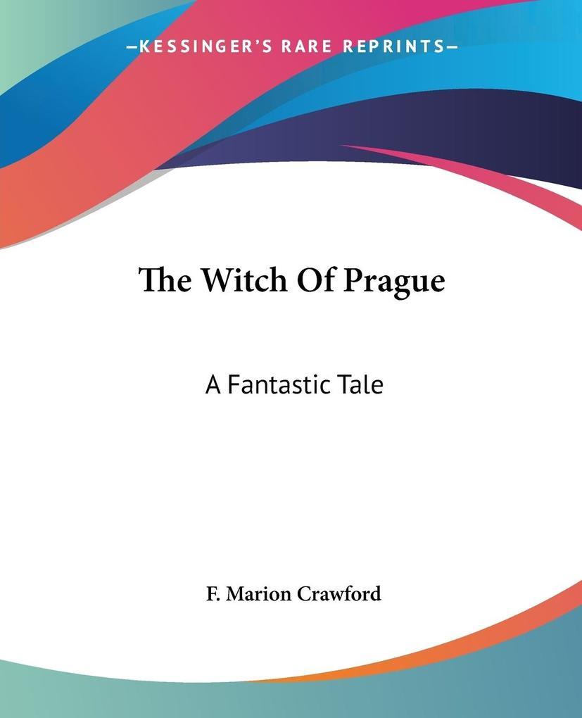 The Witch Of Prague als Taschenbuch