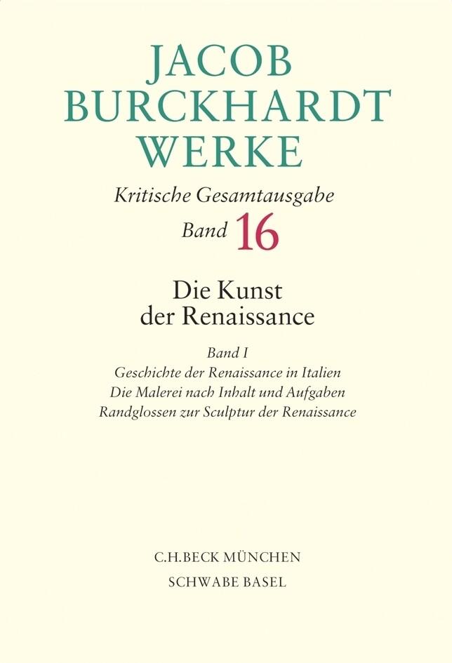 Die Kunst der Renaissance. Tl.1 als Buch (gebunden)