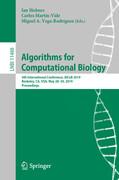 Algorithms for Computational Biology