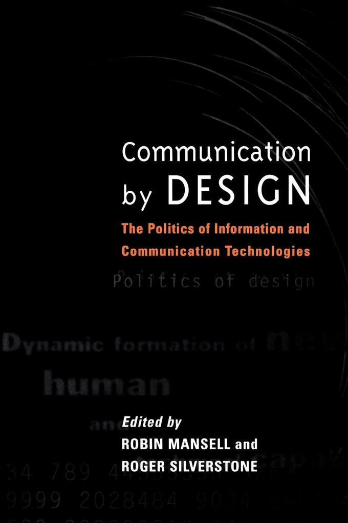 Communication by Design als Taschenbuch