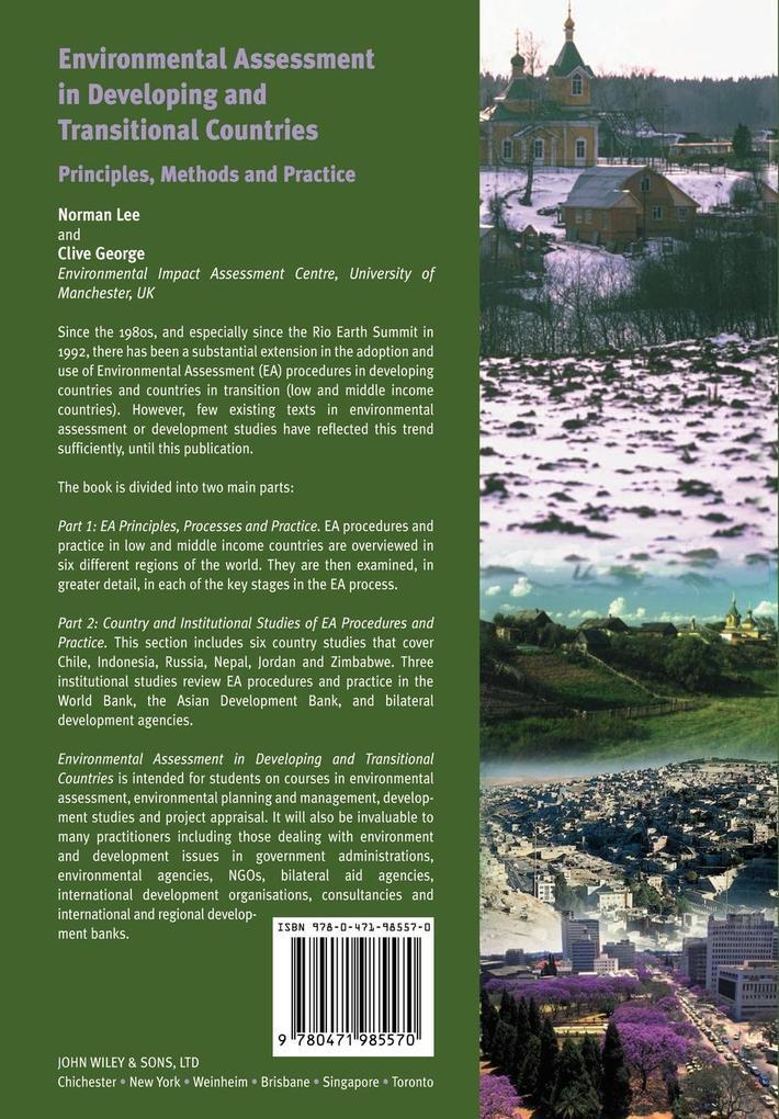 Environmental Assessment in Developing als Taschenbuch