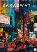 SARA SWATI - modern paintings (Wandkalender 2020 DIN A2 hoch)