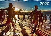 TRIATHLON 2020 (Wandkalender 2020 DIN A3 quer)